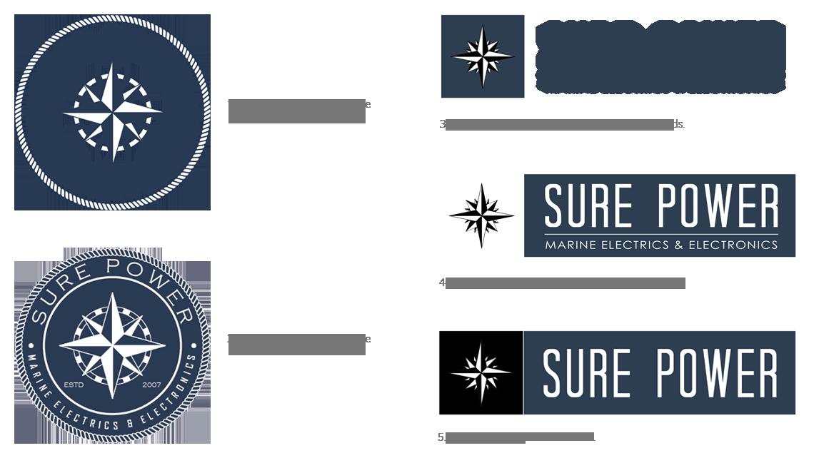 surepower logo work